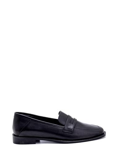 Derimod Kadın Loafer (4-01) Klasik Siyah